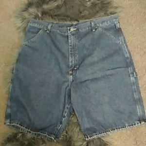 Wrangler jean carpenter shorts